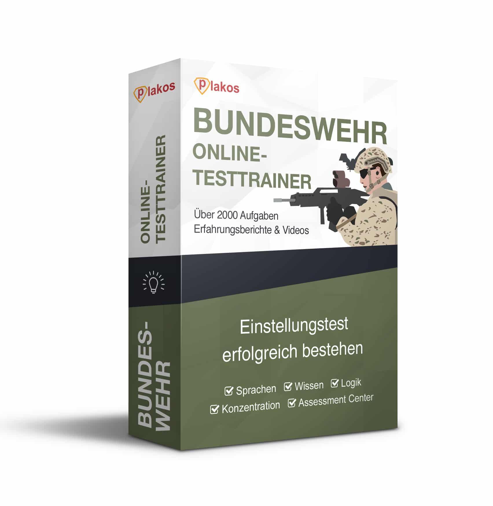 bundeswehr einstellungstest online testtrainer - Bundeswehr Online Bewerbung