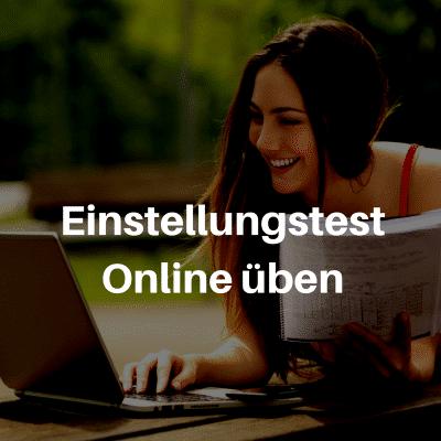 Einstellungstest Online-Kurse