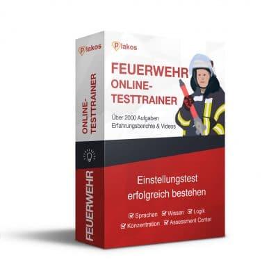 Feuerwehr Einstellungstest Online Testtrainer