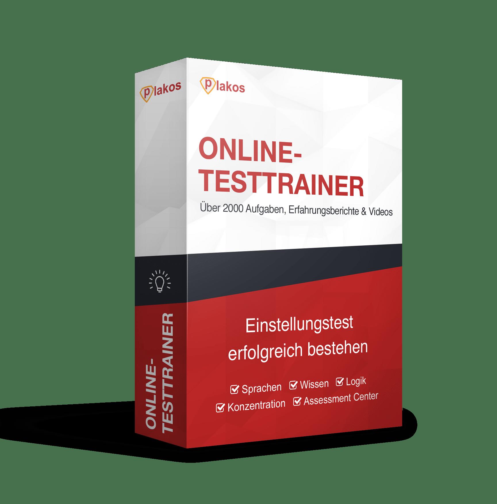 Einstellungstest Online Testtrainer