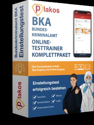 BKA Einstellungstest üben - Online Testtrainer - Plakos