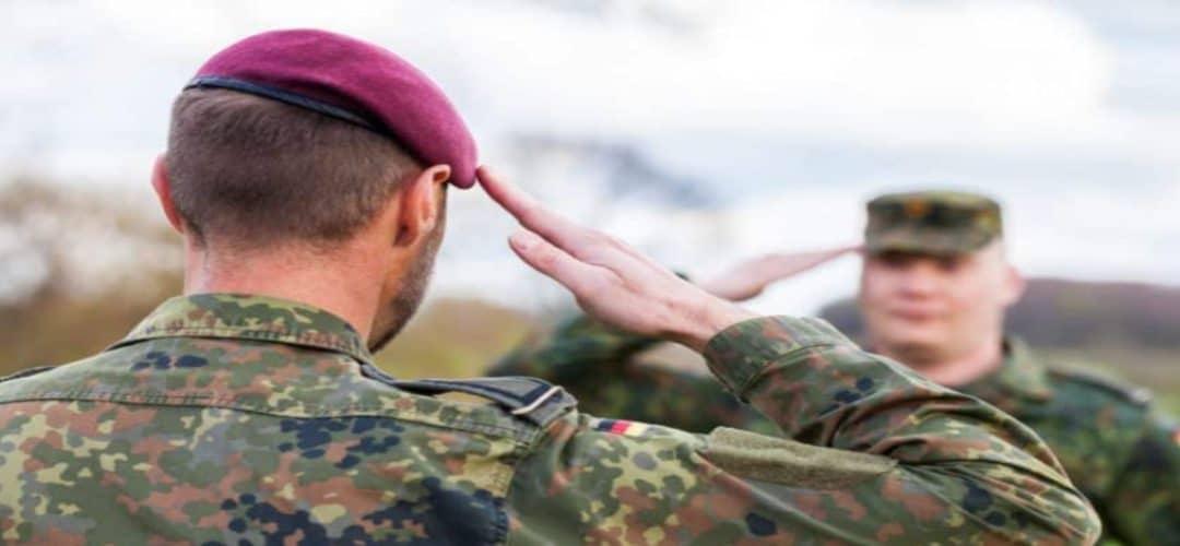 Welche Dienstgrade gibt es bei der Bundeswehr?
