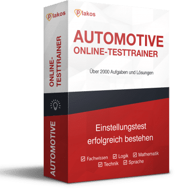 Automotive Einstellungstest Komplettpaket Plakos Akademie
