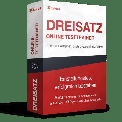 Dreisatz Online-Testtrainer