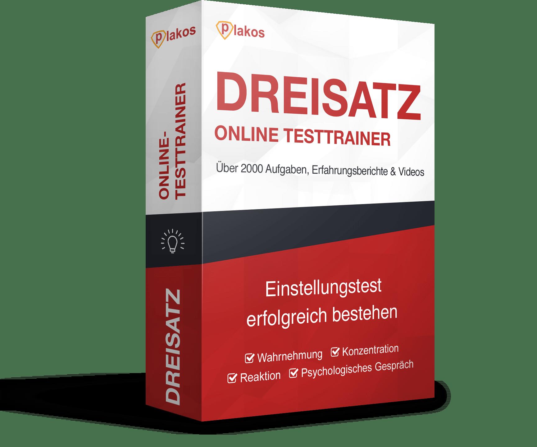Dreisatz Online Testtrainer