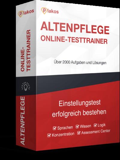 Altenpfleger/in Einstellungstest Online-Testtrainer