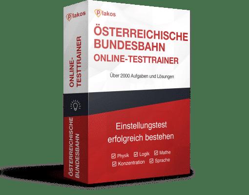Österreichische Bundesbahn ÖBB Aufnahmetest Online-Testtrainer