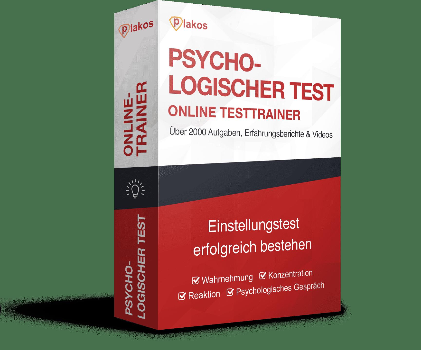 Psychologischer Test Online Testtrainer