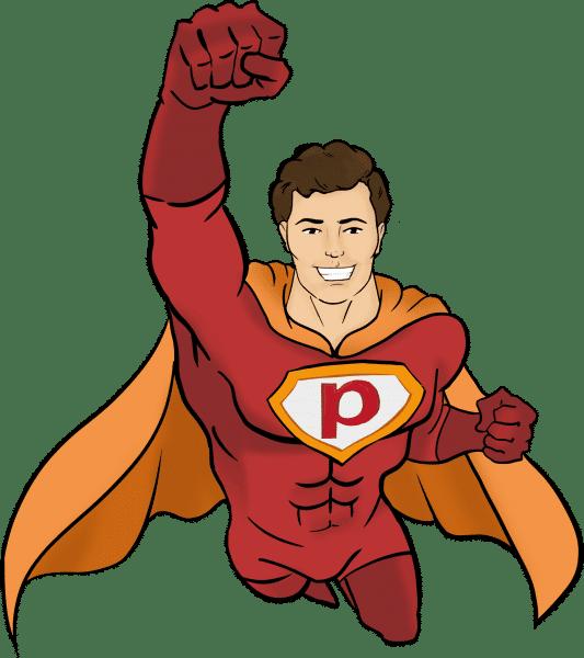 Der Plakos Akademie Superheld