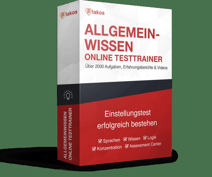 Allgemeinwissen Online Testtrainer