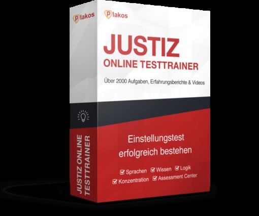 Justiz JVA Einstellungstest Online Testtrainer