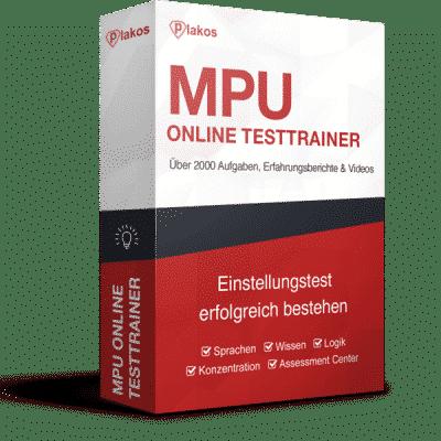 MPU Vorbereitung Online Testtrainer