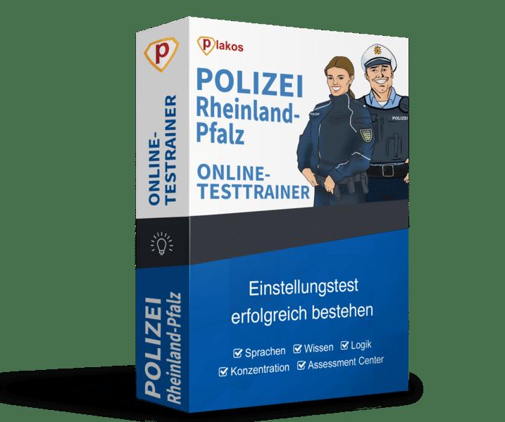 Polizei Rheinland-Pfalz Online-Testtrainer