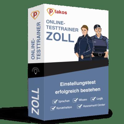 Zoll Einstellungstest Online-Testtrainer Plakos Akademie