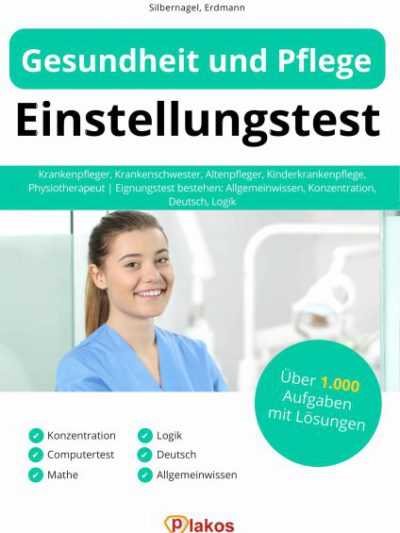 Gesundheit und Pflege Einstellungstest Buch