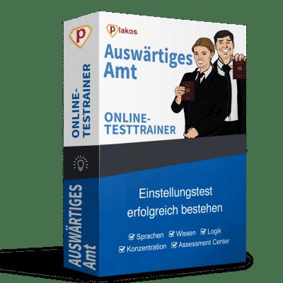 Auswärtiges Amt Einstellungstest Online-Testtrainer