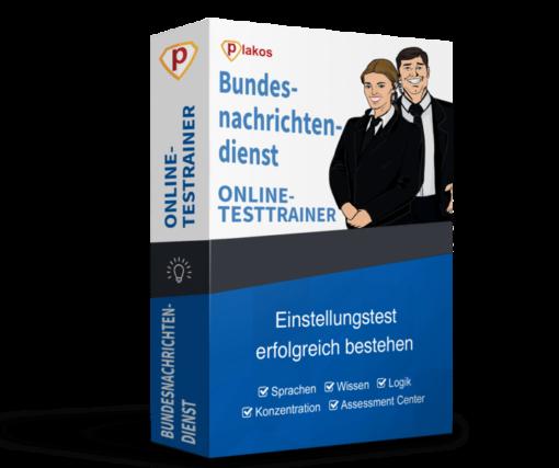 Bundesnachrichtendienst BND Einstellungstest Online-Testtrainer