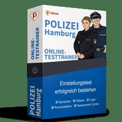 Polizei Einstellungstest Hamburg Online-Testtrainer