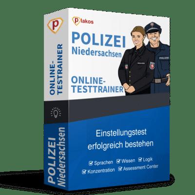Polizei Niedersachsen Einstellungstest Online-Testtrainer