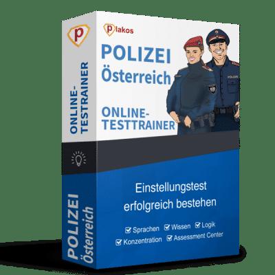 Polizei Österreich Aufnahmetest