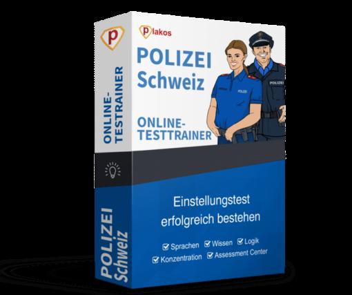Polizei Schweiz Einstellungstest Online-Testtrainer
