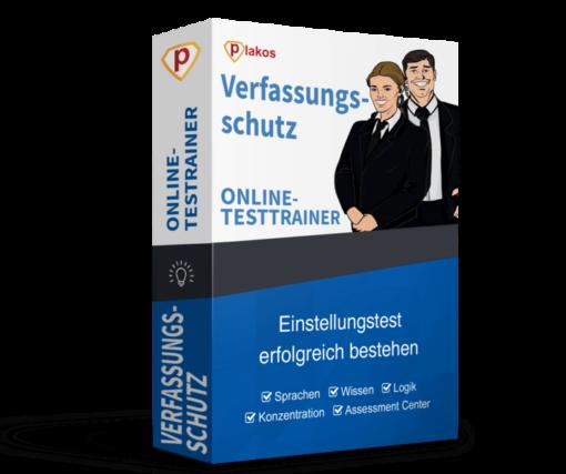 Verfassungsschutz Einstellungstest Online-Testtrainer