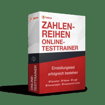 Zahlenreihen Online Testtrainer