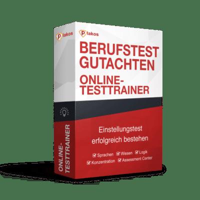 Berufstest Gutachten Online Testtrainer