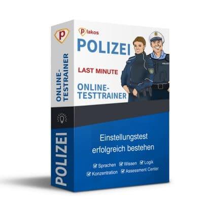 Polizei Einstellungstest Last Minute Testtrainer