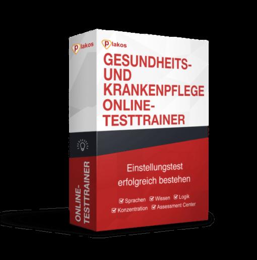 Gesundheits- und Krankenpfleger/in Einstellungstest Online Testtrainer