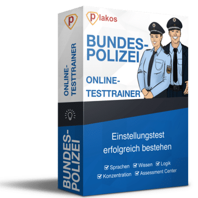 Bundespolizei Einstellungstest Online Testtrainer
