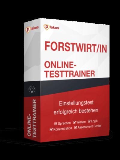 Forstwirt/in Einstellungstest Online Testtrainer