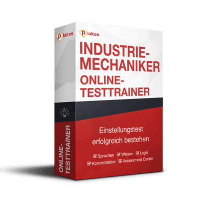 Industriemechaniker Einstellungstest Online-Testtrainer