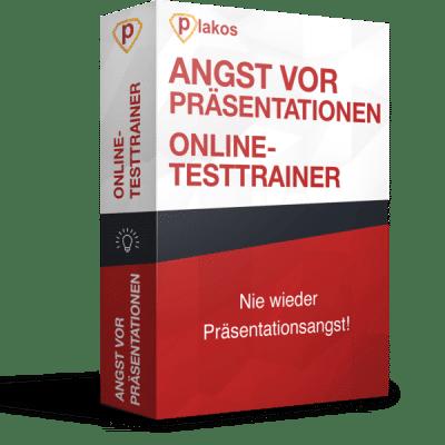 Angst vor Präsentationen Präsentationsangst Online Testtrainer