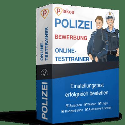 Polizei Bewerbung Online-Testtrainer