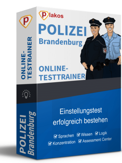 Polizei Brandenburg Einstellungstest Online-Testtrainer