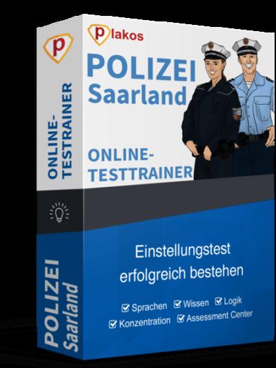 Polizei Saarland Einstellungstest Online-Testtrainer