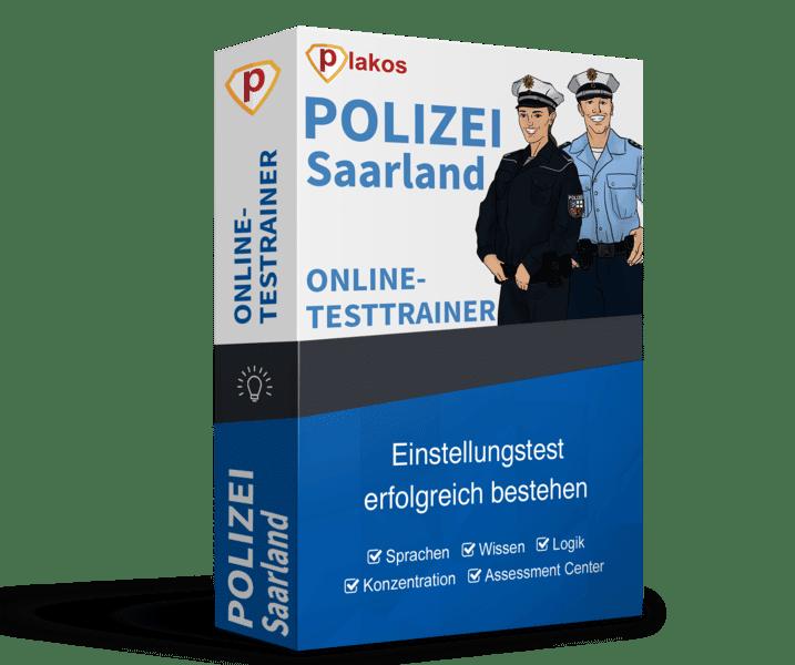 Polizei Saarland Online-Testtrainer