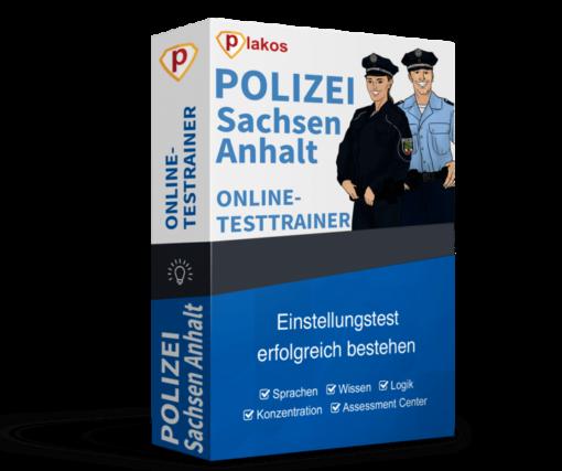 Polizei Sachsen-Anhalt Einstellungstest Online-Testtrainer
