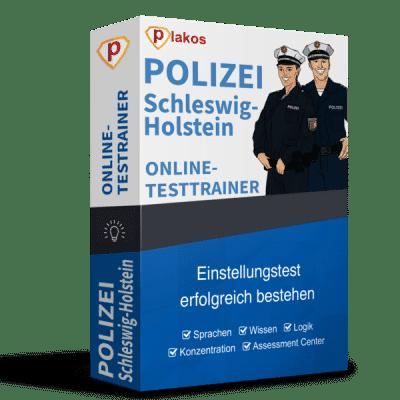 Polizei Schleswig-Holstein Einstellungstest Online-Testtrainer