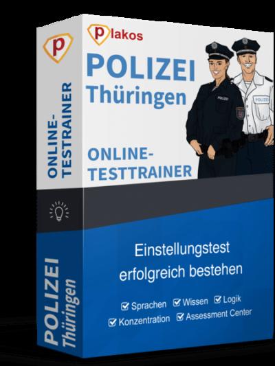 Polizei Thüringen Einstellungstest Online-Testtrainer