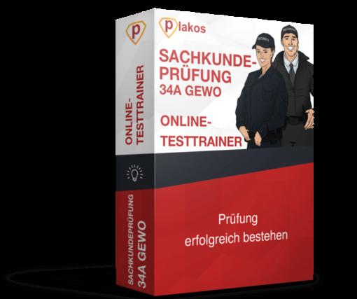 Sachkundeprüfung 34 GewO Online Testtrainer