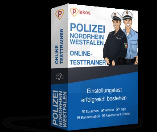 Polizei Nordrhein-Westfalen NRW Einstellungstest Online-Testtrainer