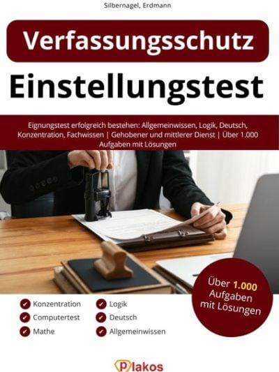 Verfassungsschutz Einstellungstest Buch