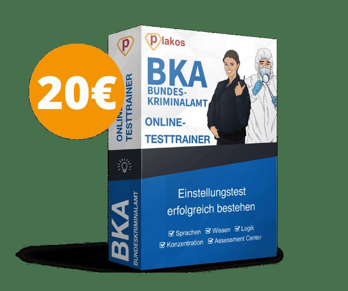 UPGRADE: Bundeskriminalamt / BKA Einstellungstest Online