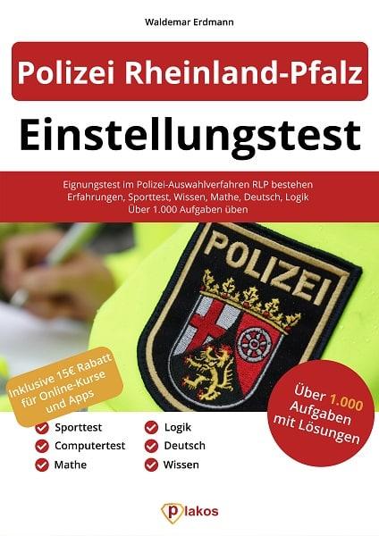 Polizei Einstellungstest Buch - Bestehe den Eignungstest!