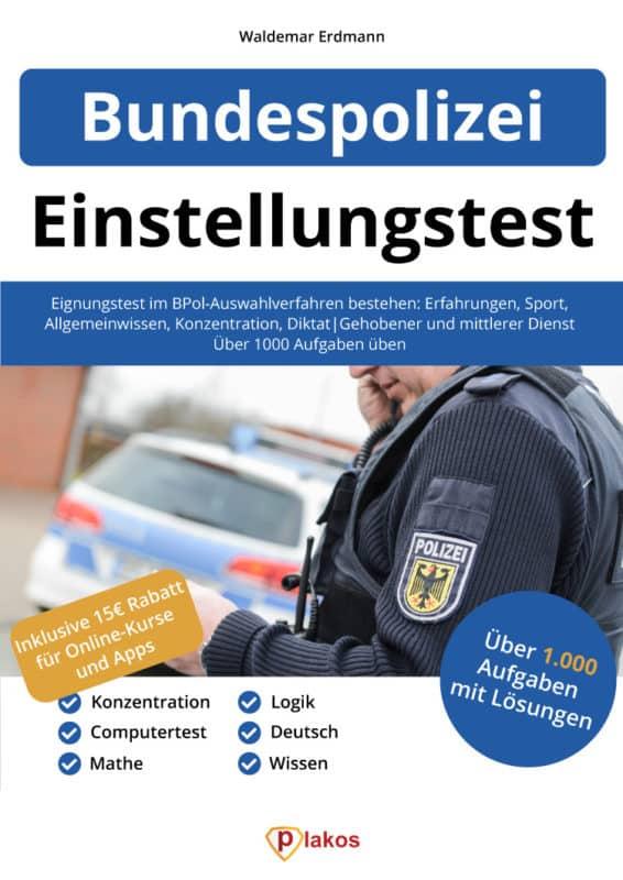 Bundespolizei Einstellungstest Buch