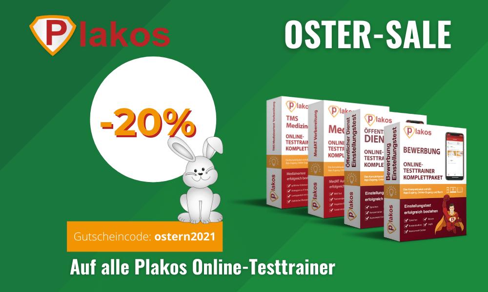 Oster SALE bei Plakos – 20% Rabatt auf alles