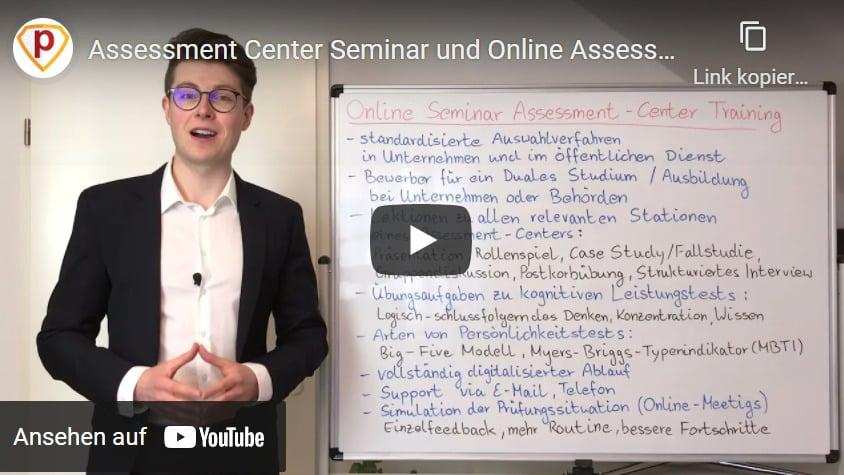 Assessment Center Seminar im Zeitalter von Corona