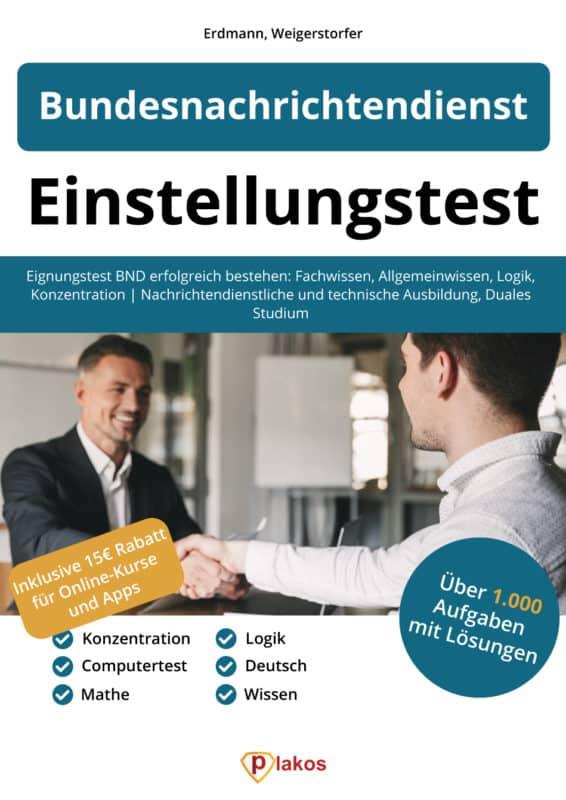 Bundeswehr Einstellungstest Buch